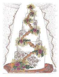how to draw wedding cakes the wedding specialiststhe wedding