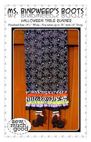 halloween table runner pattern sew much good whimsical halloween table runner tutorial