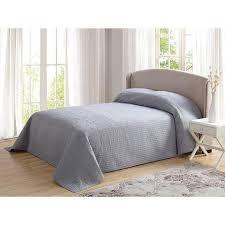 Grey Twin Bedding 80 X 110 Parisian French Tile Oversized Gray Twin Bedspread Floor