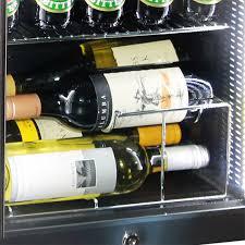 glass door bar fridge triple glass door bar fridge tropical rated