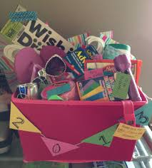 graduation from college gifts graduation gift basket college survival and tips basket diy