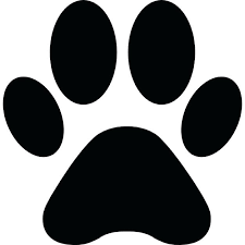 paw print shape icons free free coloring pics of