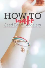 bracelet make images How to make seed bead bracelets free tutorial on craftsy jpg