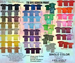 single color tie dye for screen print tiedyedirect com