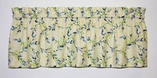 Green Valance Valance Curtains Window Toppers