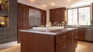 lausanne cherry spice slab kitchen timberlake cabinetry our