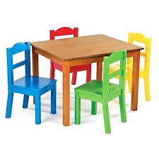 childrens table and 2 chairs wooden childrens table tingz me