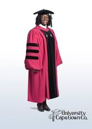 pink cap and gown harvard classic doctoral cap gown