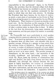 The Constitution Made No Mention Of A Presidential Cabinet The Project Gutenberg Ebook Of The Government Of England Vol I