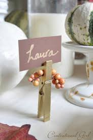 Table Place Cards by 40 Thanksgiving Table Settings Thanksgiving Tablescapes