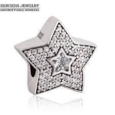 silver star charm bracelet images Pandora charms star jpg