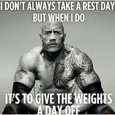 Birthday Workout Meme - workout humor on twitter i don t always take a rest day but wen