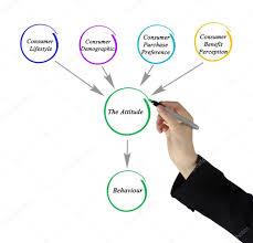 diagram of factors affecting attitude u2014 stock photo vaeenma