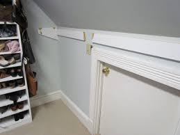Slanted Wall Bedroom Closet Tremendous Closet Rod Bracket For Sloped Ceiling Roselawnlutheran