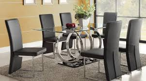 glass dining room tables and chairs glass dining room set for 8 dining table set