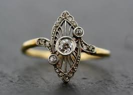 best 25 vintage art deco rings ideas on pinterest art deco ring