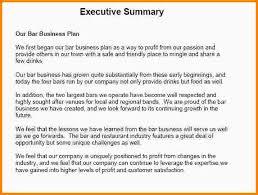 6 example of executive summary nypd resume