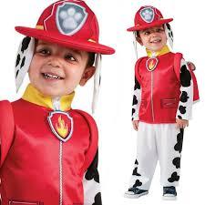 fireman halloween costumes boys marshall paw patrol cartoon fireman fancy dress costume kids