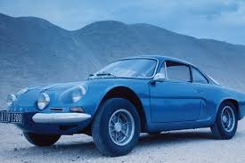 renault dezir blue design study for a modern day renault alpine sports coupe