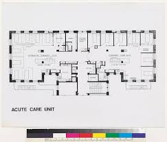 mt zion hospital and medical center acute care unit floor plan