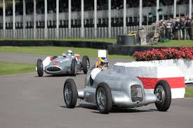 classic mercedes race cars game changer with mercedes benz at goodwood festival of speed 2017