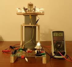 Radio Thermal Generator Thermoelectric Generator Candle And Cold Water