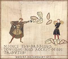 Tapestry Meme - image 336818 medieval macros bayeux tapestry parodies