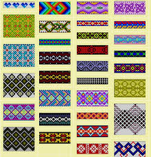 bracelet with beads patterns images Friendship bracelets use for loom beading whatever pinterest jpg