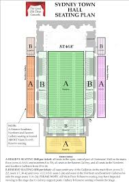 Concert Hall Floor Plan Seating Plan The Good Old Days Concerts