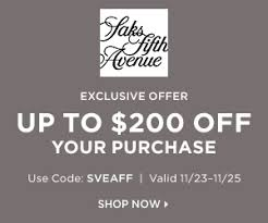 fifth avenue catalog sales saks fifth avenue black friday sales flexoffers