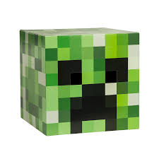 amazon com minecraft head costume mask set steve and creeper