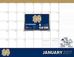Notre Dame Desk Accessories Notre Dame Desk Calendar Notre Dame Fighting Desk Calendar