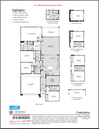 Floor Plan Company by Catania Sierra Montana Surprise Arizona D R Horton