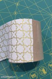 how to cover paper mache boxes with fabric the polka dot chair
