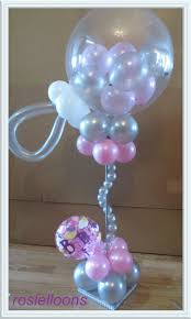 Centerpieces For Baby Shower by 437 Best Balloon Baby Shower Parties Decorations Images On