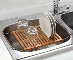 Best Over The Sink Dish Drainer Images On Pinterest Dish - Kitchen sink with drying rack