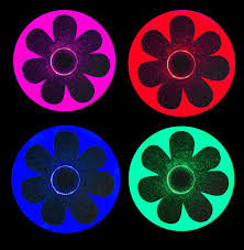 led light up pasties daisy carnival costume light up led daisy pasties edc