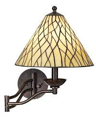 Iron Bedroom Wall Lamps Robert Louis Tiffany Iron Vine Swing Arm Wall Lamp Wall Porch