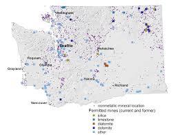 Spokane Washington Map Coal Metallic And Mineral Resources Wa Dnr