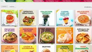 de cuisine thermomix mes collections de recettes sur mythermomix