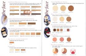 trucco color chart ball beauty supply