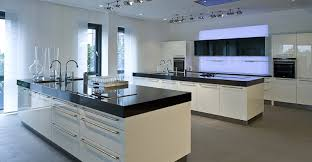 kchenboden modern large all white kitchen with modern design with small eat in area