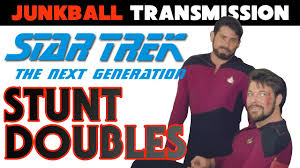 star trek the next generation stunt doubles youtube