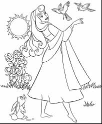fantastic disney princess coloring pages with sleeping beauty