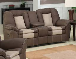 Rocker Recliner Loveseat Ac Pacific Carson Dual Reclining Loveseat With Console