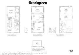Fredericksburg Va Map Brookgreen Floorplan New Homes Fredericksburg Va Townhomes At Lakeside