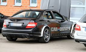 lifted mercedes sedan 2012 mercedes benz c63 amg black series spied u2013 car and driver