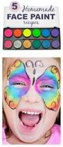 5 easy ways to make face paint at home how fun my kids love to