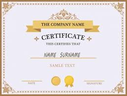 fun certificate templates award certificate vectors photos and psd files free download