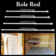 Extendable Rods Curtains Unbranded Curtain Rods And Finials Ebay